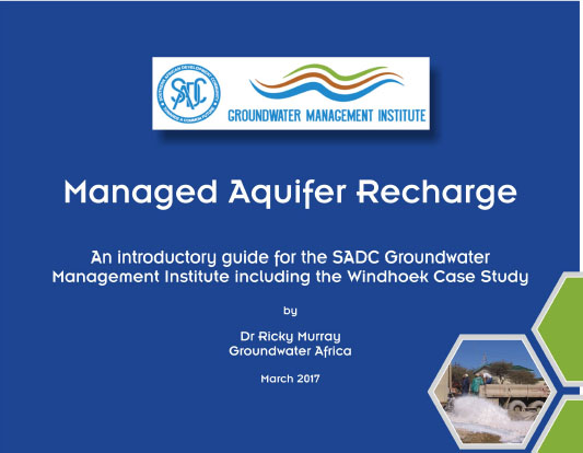 Training on Managed Aquifer Recharge Held at Safari Court Hotel in Windhoek, Namibia on 2 March 2017 59