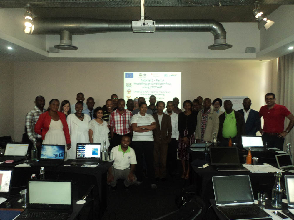 Joint SADC-GMI/UNESCO-IHP Groundwater Modelling Training held at Johannesburg from 20 - 22 March 2017 58