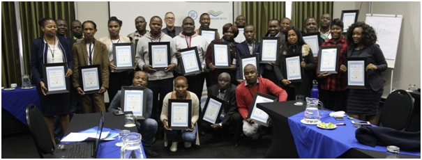SADC-GMI host Windows Interpretation System for Hydrogeologists (WISH) Training 55