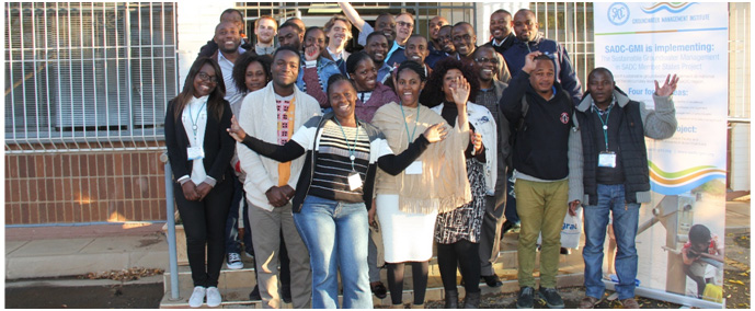 Young Professionals from SADC Member States during one of the workshops during the project implementation