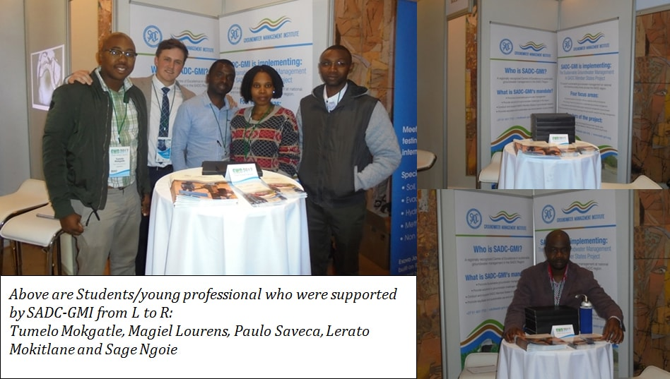 SADC-GMI participates at the 15th Biennial Groundwater Division Conference 1