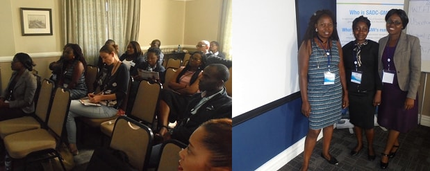 SADC-GMI hosts a special event at the 18th WaterNet/WARFSA/GWP-SA Symposium 68