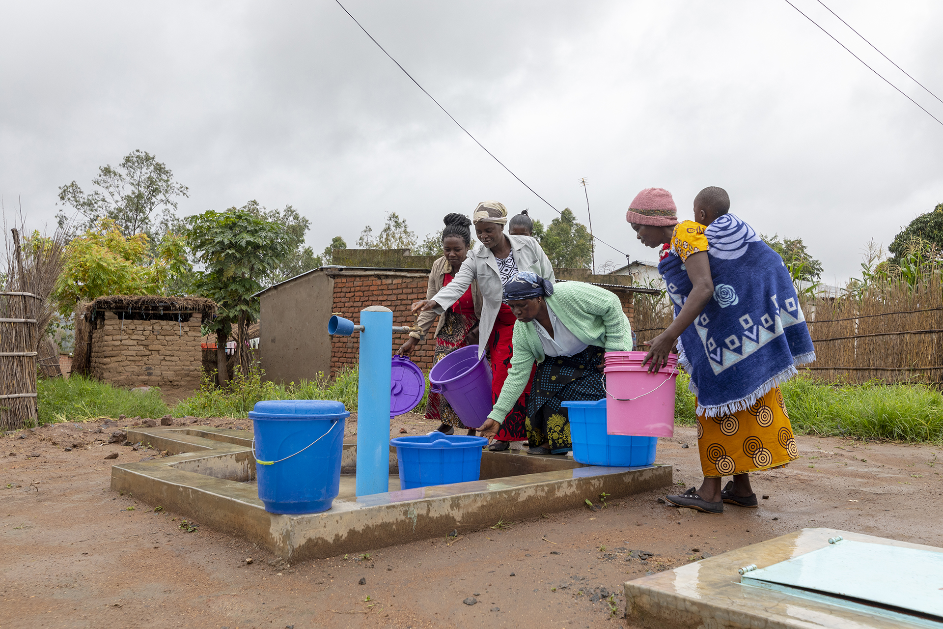 Water Supply project in Chimbiya, Dedza District, Malawi