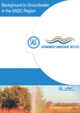 BACKGROUND TO GROUNDWATER IN THE SADC REGION