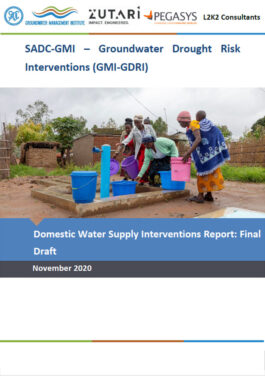 Domestic Water Supply ENG