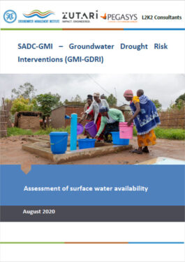 ENG Assessment of Surface Water Cover