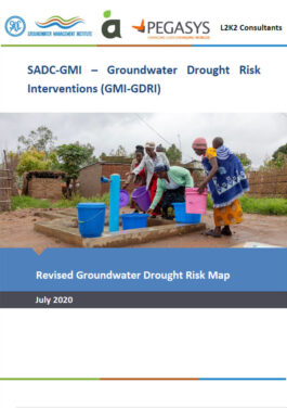 GW Drought Risk Map ENG Cover
