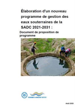 Programme Proposal Document FR